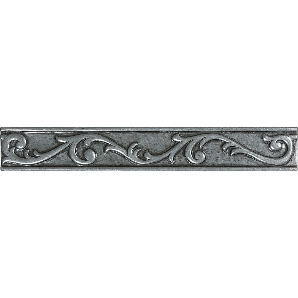 Enigma 1-Inch x 8-Inch Scroll Liner in Pewter