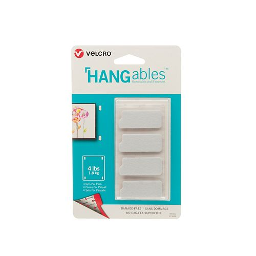 HANGables 1 3/4 in x 3/4 in strips, 4 ct