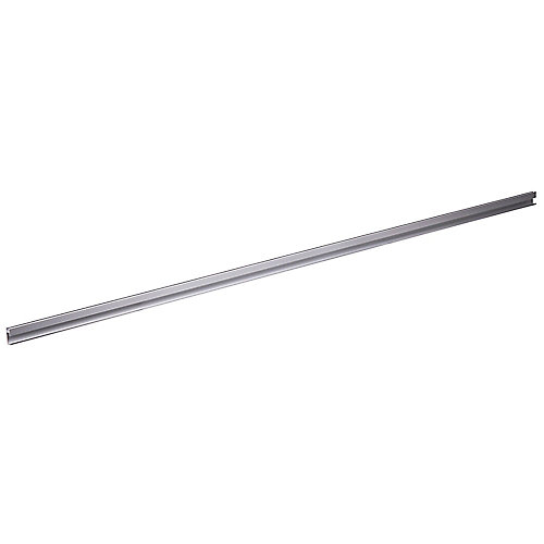 45-inch STAS Picture Hanging Systems Aluminum Cliprail - 1pk