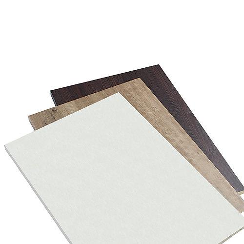 Closet Culture 16-inch x 23-inch Wood Shelf in Driftwood