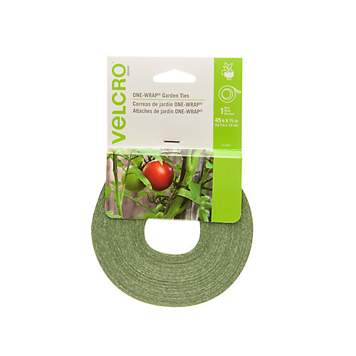 Plant Tie 45 ft x 1/2 in, green