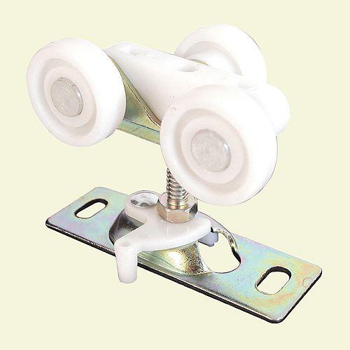 Prime-Line Assemblage de roulettes pour porte coulissante encloisonnée, roulettes en plastique