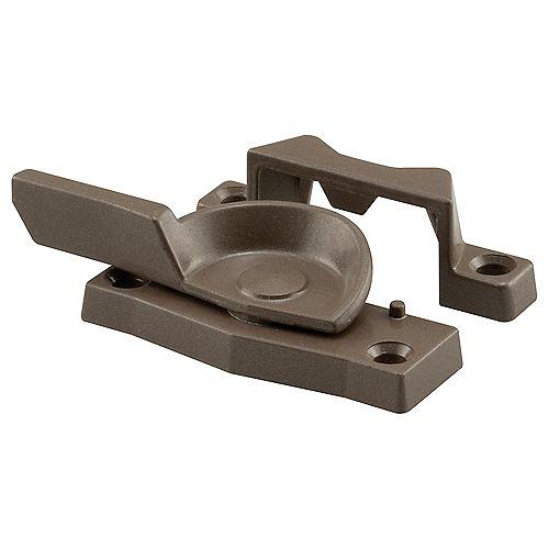 Prime-Line Cam Action Sash Lock, Diecast, Bronze Finish, 2 in. Hole Centers