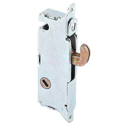 Mortise Lock, 3-11/16 inch Steel, 45 Degree Keyway, Round Faceplate, Spring-Loaded