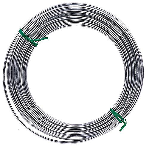 50-ft 9-Ga 165-Lb Max Galvanized Utility Wire - 1pc