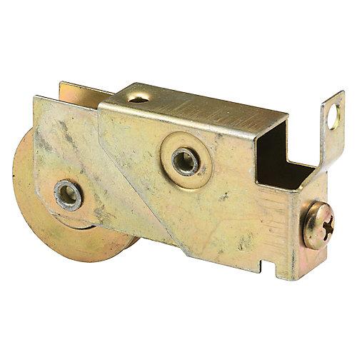 Assemblage de porte coulissante, roulement à billes d'acier de1-1/4 po.