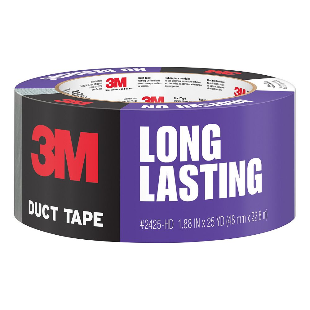 Scotch 1.88 -inch x 25 yards Tough No Residue Pa-inchter ft.s Duct Tape