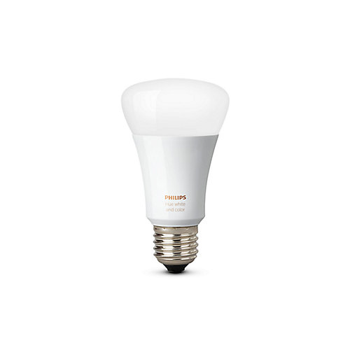 Hue White and Colour Ambiance A19 60W Equivalent Dimmable LED Smart Bulb - ENERGY STAR®
