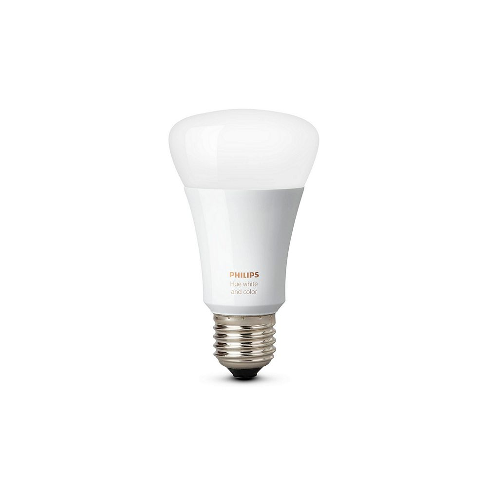Philips Hue White & Colour Ambiance A19 LED smart bulb