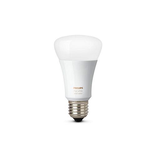 Philips Ampoule Hue A19 GEN3, couleur et blanc- ENERGY STAR®