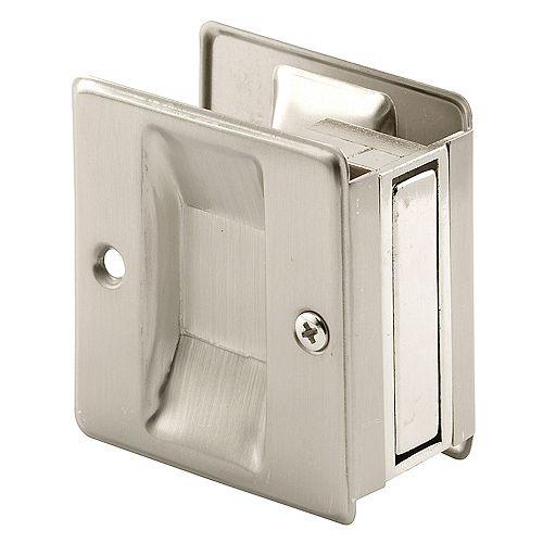 Satin Nickel, Pocket Door Pull