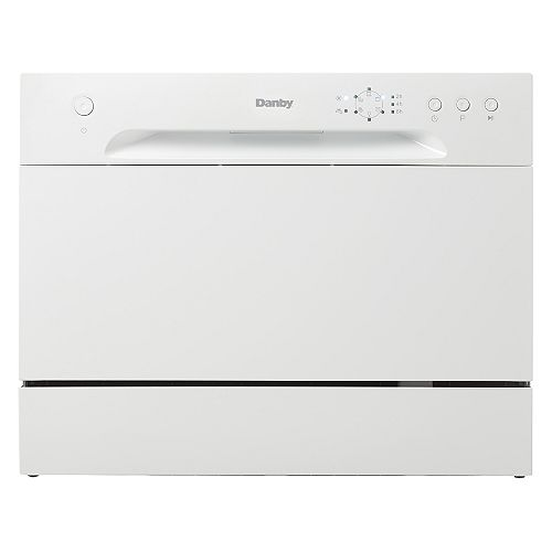 Danby Countertop Dishwasher with 6 Place Setting Capacity - ENERGY STAR®