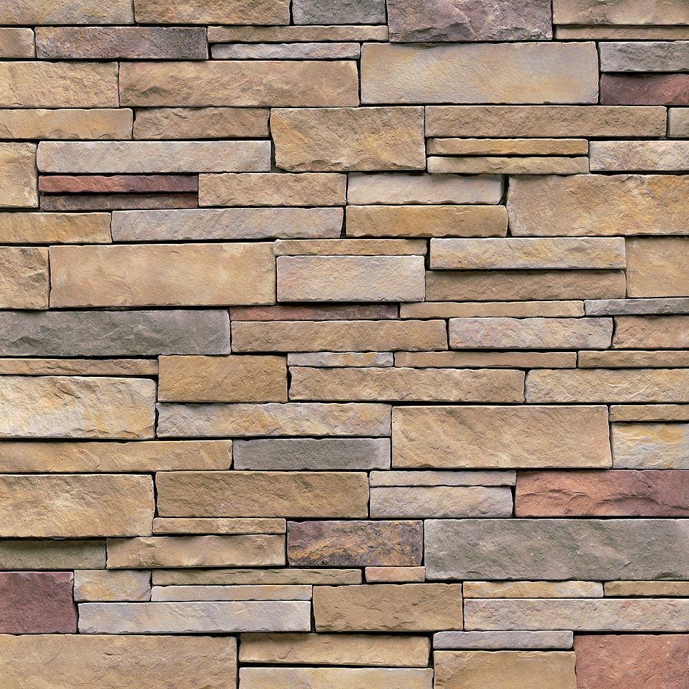 Veneerstone Stack Stone Mendocino 10 Sf The Home Depot Canada