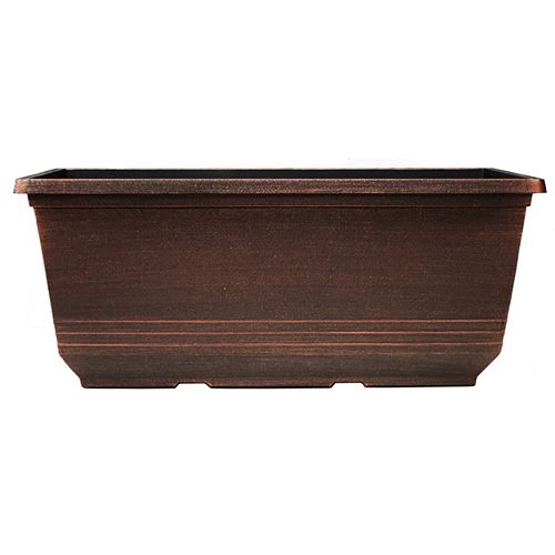 CTi Plastics Torino 15-inch Window Box Planter
