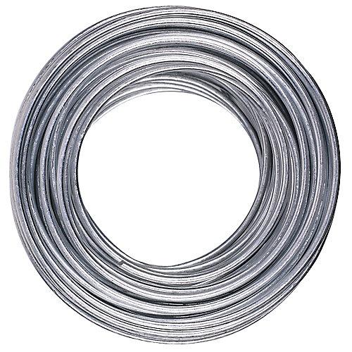 50-ft 14-Ga. 55-Lb Max Galvanized Steel Wire - 1pc