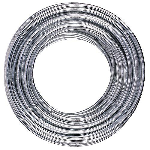 Fil d'acier galvanisé max. de 55 lb, 14 galvanisés, 50 pi 14 gal. - 1 pièce