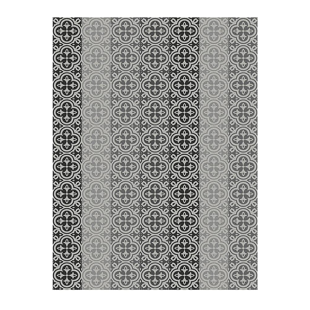 Multy Home Tapis Monaco Enderby, gris,  6 pi 6 po x 8 pi 8 po