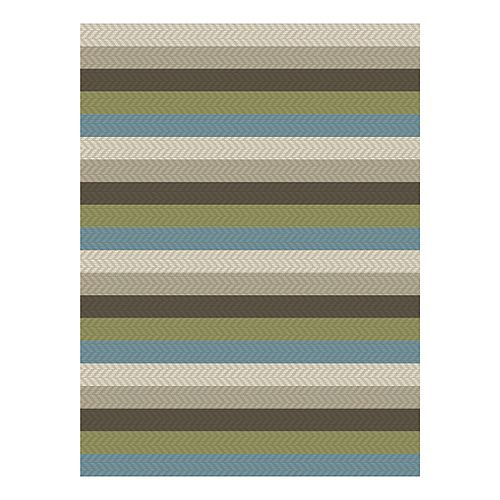 Hampton Bay 6 ft. 6-inch x8 ft. 8-inch Monaco Dawson Spa Area Rug