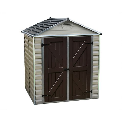 6 ft. x 5 ft. Skylight Storage Shed