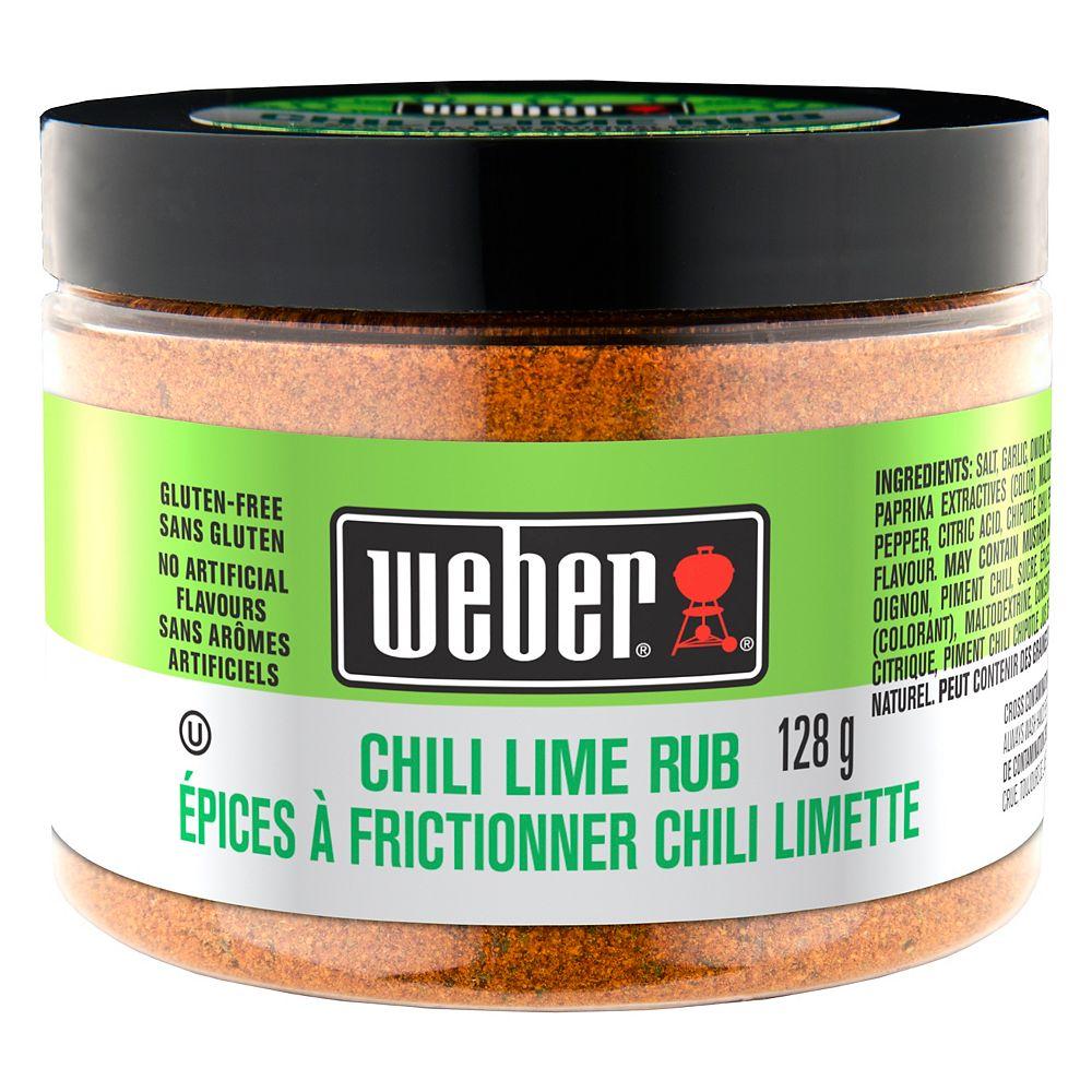 Weber 128g Chili Lime Rub