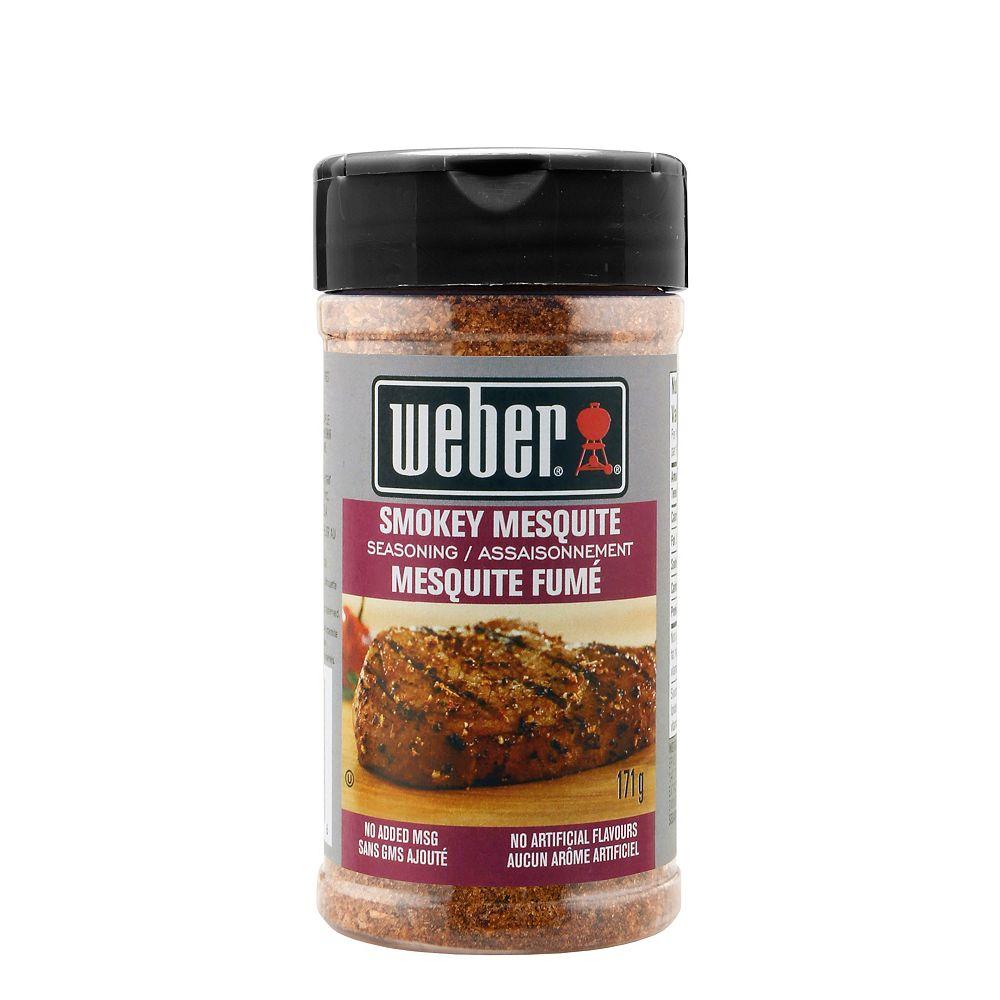 Weber 171g Smokey Mesquite Seasoning