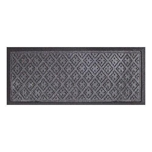 TrafficMASTER 15-inch x 36-inch Grey Rectangular Doormat