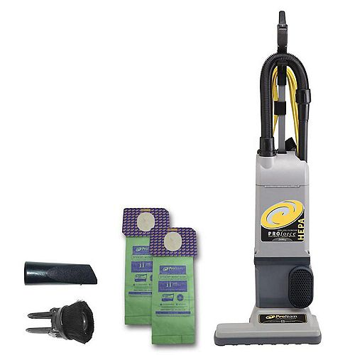 ProForce 1500XP (15-Inch. Powerhead) HEPA Commercial Bagged Upright Vacuum Cleaner