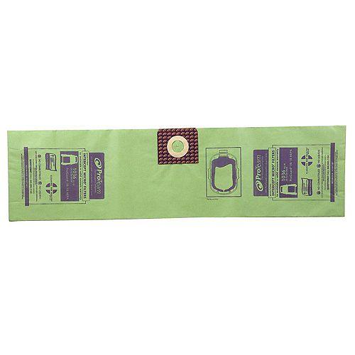 Sac filtrant Intercept Micro pour aspirateurs ProGuard 10 - Paquet de 3