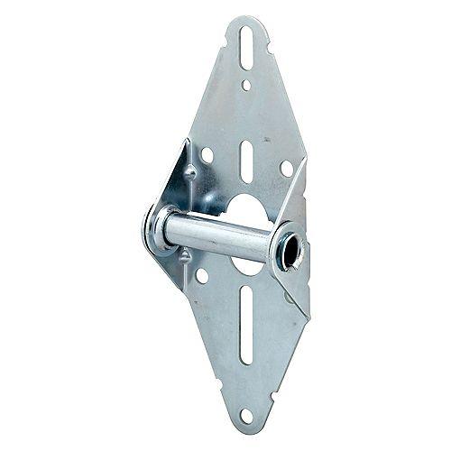 Charnière standard, position #1, avec pièces de fixation, de largeur de 3 po.