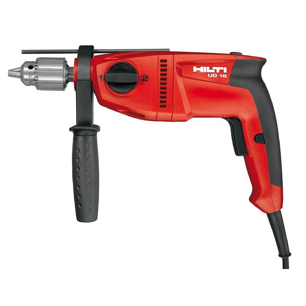 Hilti 120-Volt 1/2 in. Universal Wood Drill UD 16 Keyed (Tool Only)