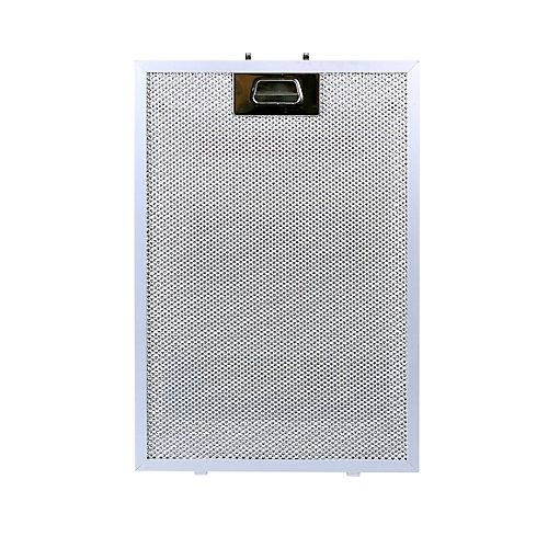 Filtre de rechange en aluminium pour hotte VISSANI CG21L350A15.
