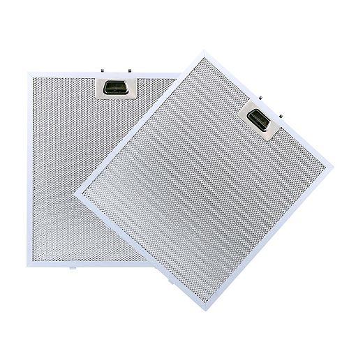 Filtre de remplacement en aluminium pour hottes VISSANI C25L350A15, CG22L500A15, C26L320A16.