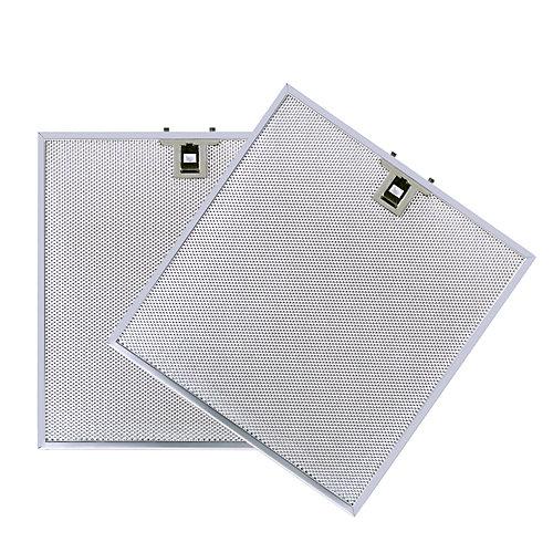 Filtre de remplacement en aluminium pour hottes VISSANI U5H300A15, U7L380A15.
