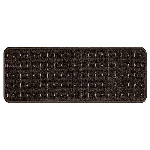 9-inch x 24-inch Chocolate Stair Tread