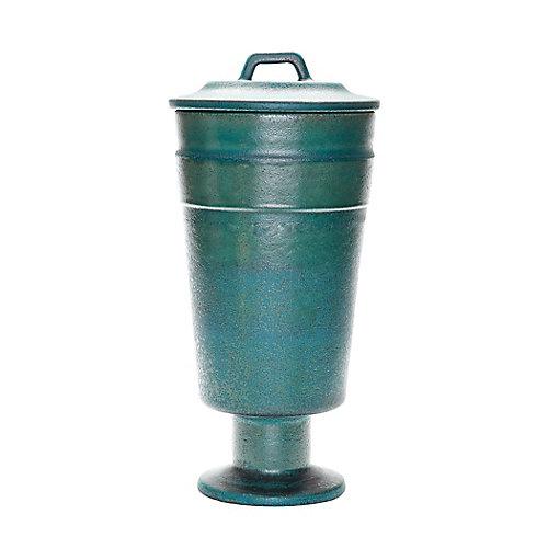 Metallic Patina Vase - Tall