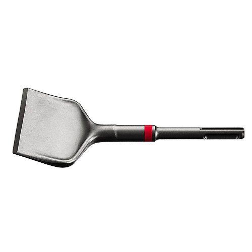 7 Inch TE-CP SDS Plus Style Wide-Flat Offset Chisel/Scraper