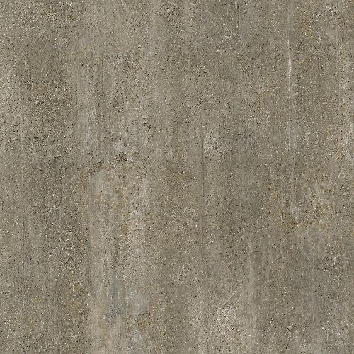 Verrouillage des planchers de tuiles de vinyle de luxe en béton doré de 12 po x 23,82 po (19,8 pi2 / caisse)