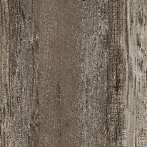 Verrouillage plancher de vinyle de luxe, 8,7 po x 47,6 po (20,06 pi2 / caisse), Beige Rustique Facile