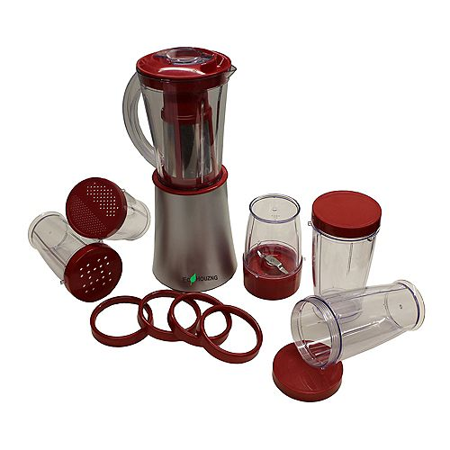 Ecohouzng Multi-Function Electric Stand Blender in Red