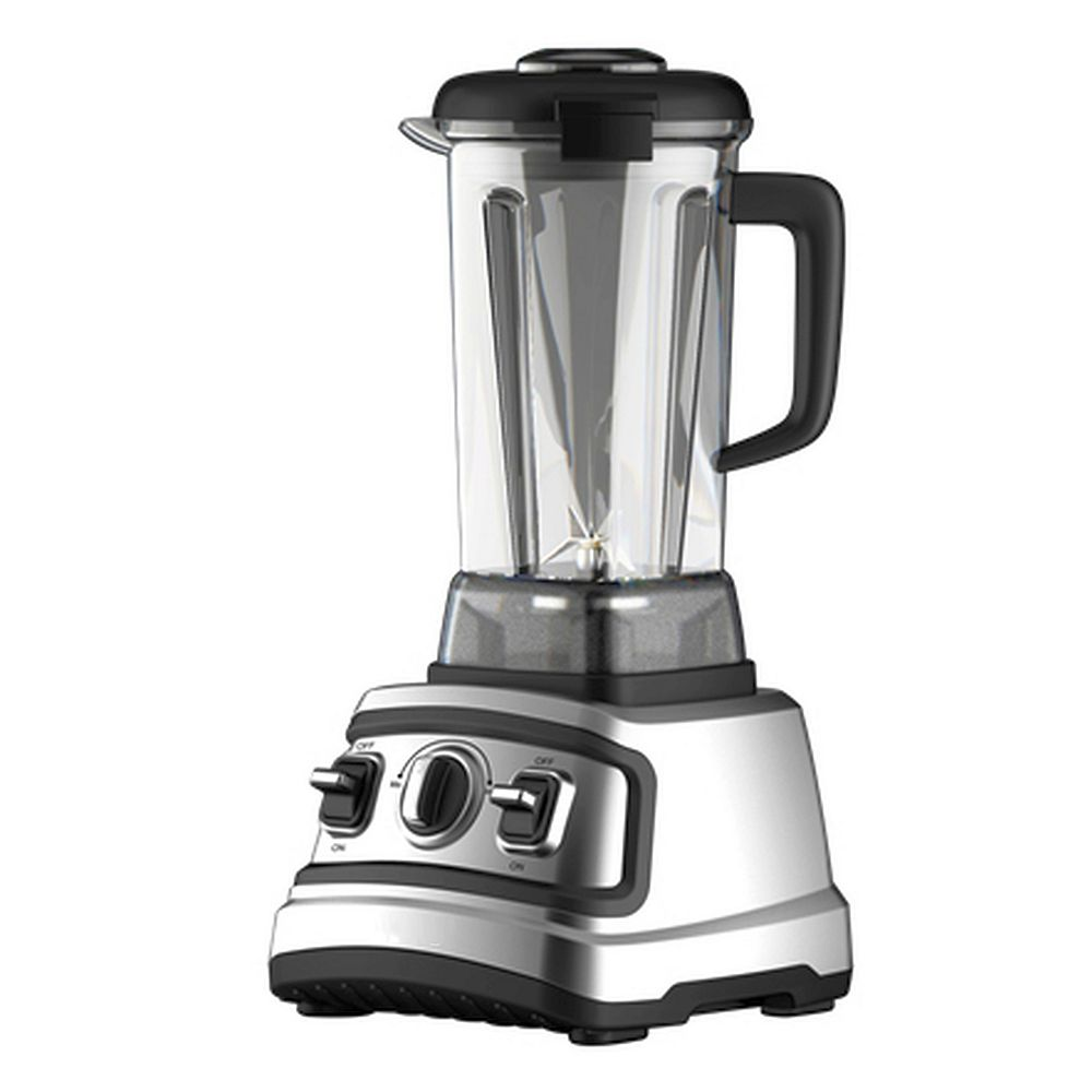 Ecohouzng 2L High Speed Quiet Blender in Chrome and Black