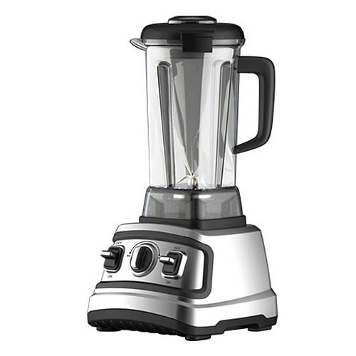 2L High Speed Quiet Blender in Chrome and Black