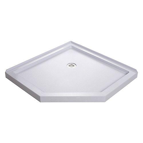 DreamLine SlimLine 42-inch x 42-inch Neo Shower Receptor in White