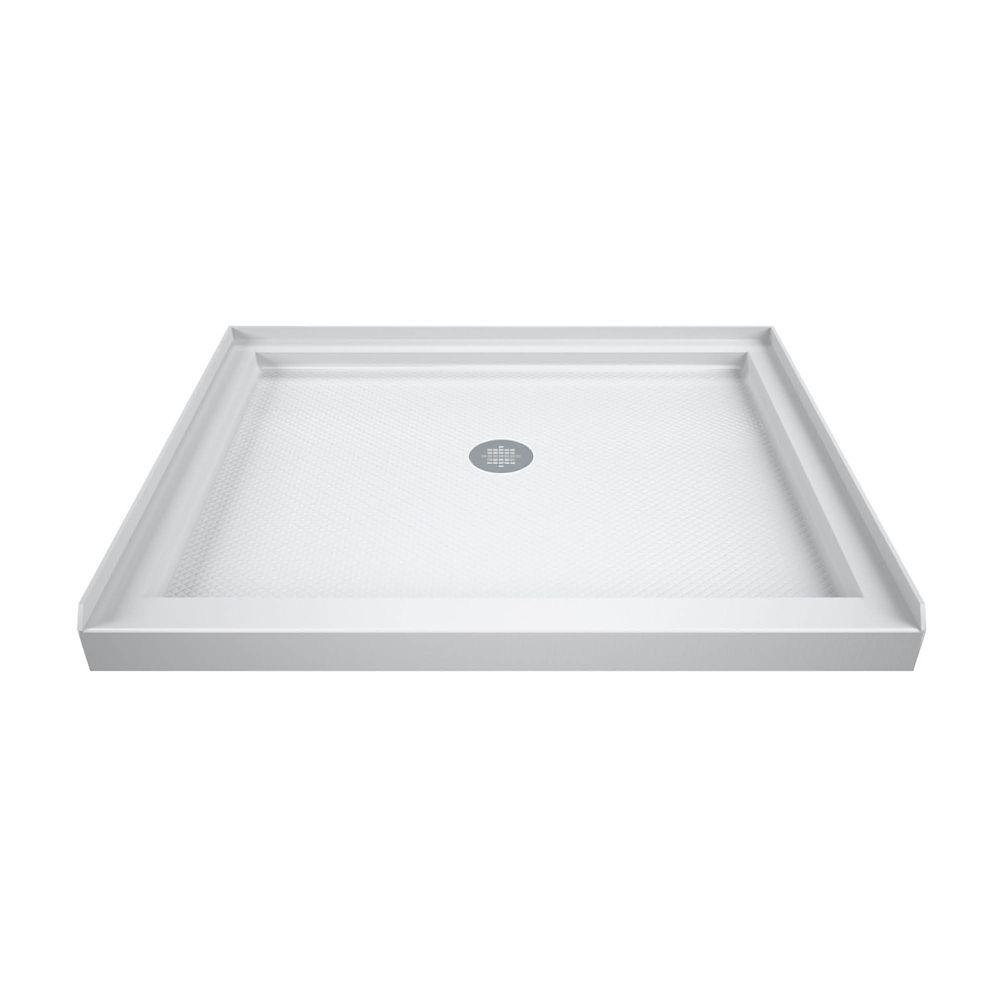 SlimLine 32-inch x 32-inch Single Threshold Shower Base in White