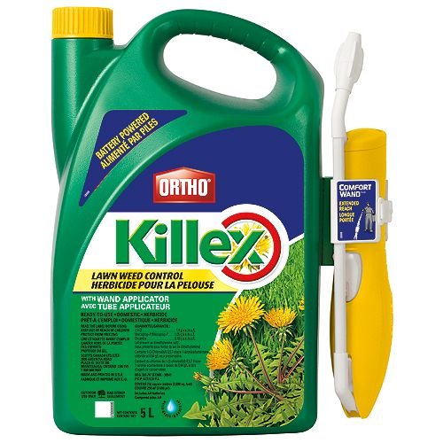 Killex 5L Ready to Use Lawn Weed Control with Wand