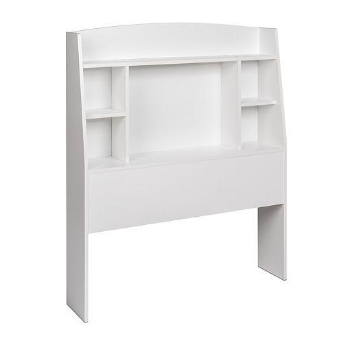 Tête de lit simple Astrid, fini blanc