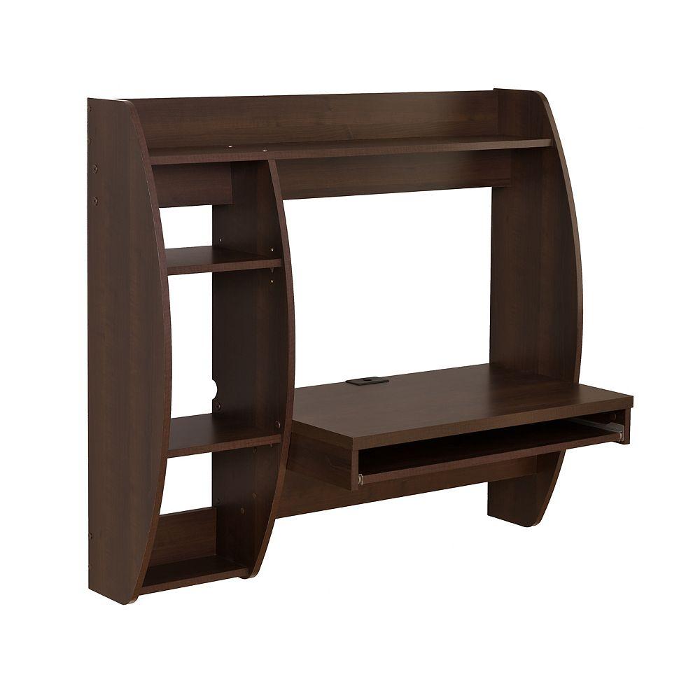 Prepac Espresso 41-inch x 39.5-inch x 19-inch Standard Computer Desk in Espresso