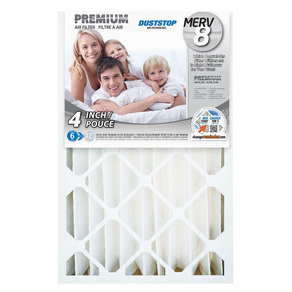 Duststop 16x25x4 MERV 8 Air Filter