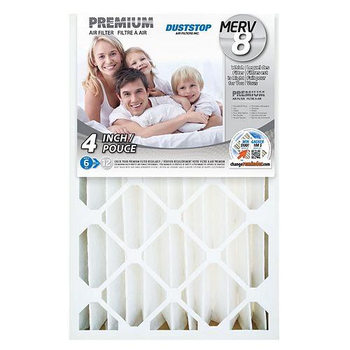 16x25x4 MERV 8 Air Filter