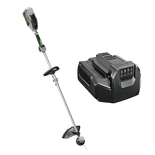 POWER+ 15-inch 56V Li-Ion Cordless String Trimmer Kit w/Rapid Reload Head w/ 2.5Ah Battery & Charger