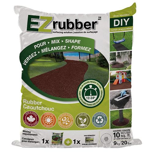 Solution de surfaçage en caoutchouc EZ Rubber Charcoal